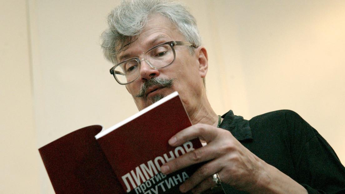 Muere el escritor y político ruso Eduard Limónov a los 77 años