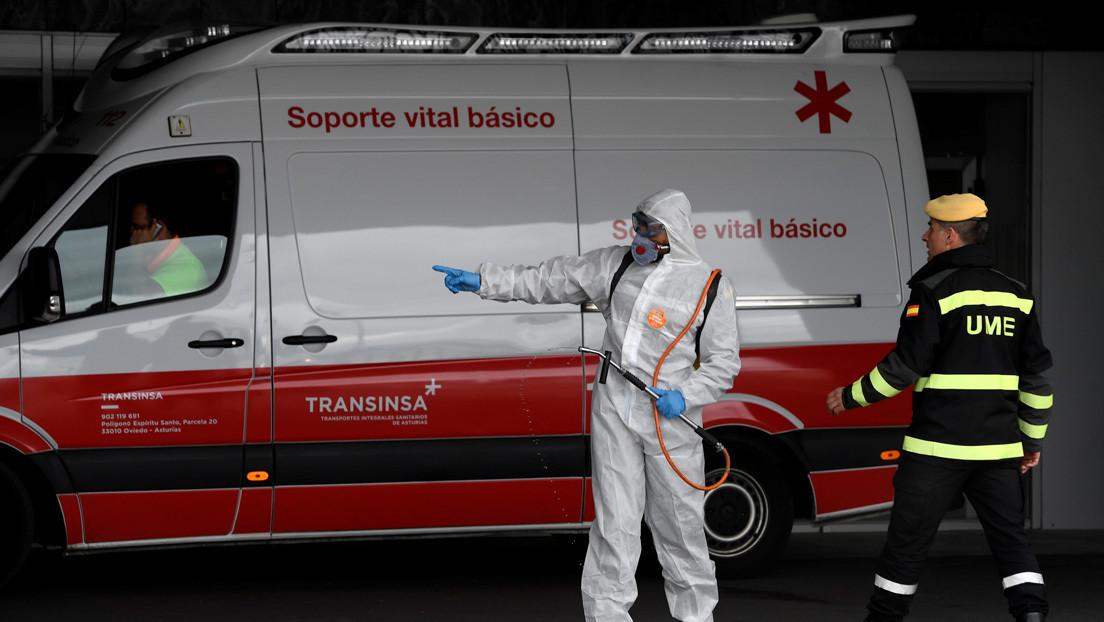 España registra más de 2.500 casos nuevos de coronavirus en un día y la cifra de fallecidos se eleva a 558