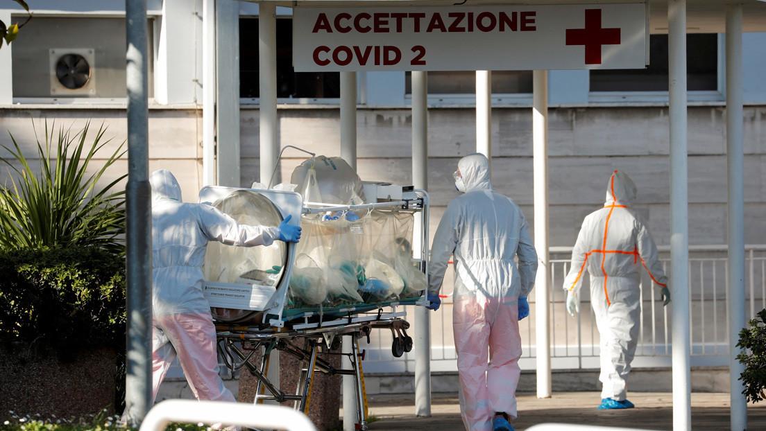 Se registran 475 nuevas muertes y 4.207 contagiados por coronavirus en Italia, el mayor aumento en 24 horas