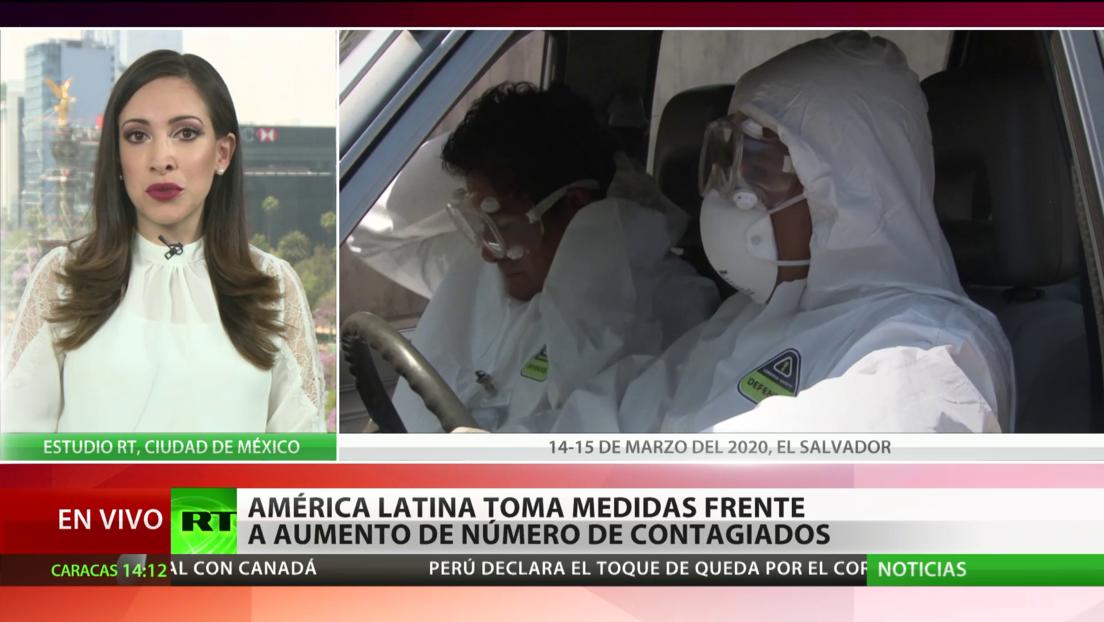 Países latinoamericanos toman medidas para combatir la propagación del coronavirus