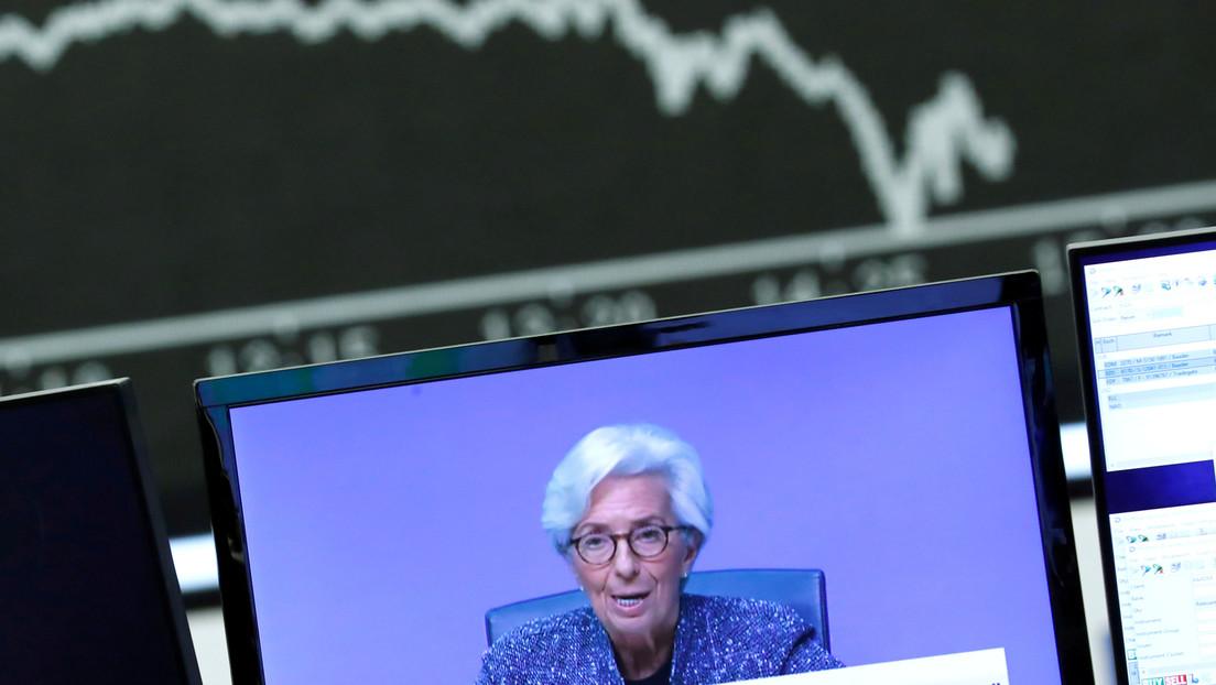 """El BCE lanza un plan de compra de bonos por """"emergencia pandémica"""" de 750.000 millones de euros"""