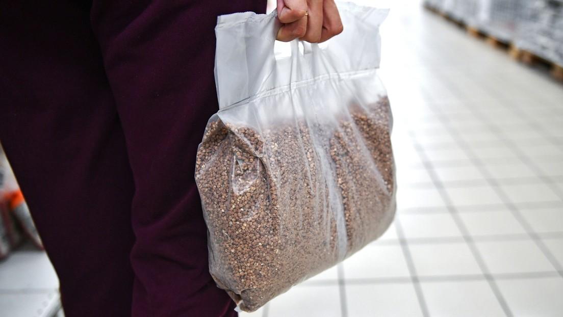 Vende por 12.000 dólares un alimento que vale 70 centavos en Rusia en medio del brote de coronavirus