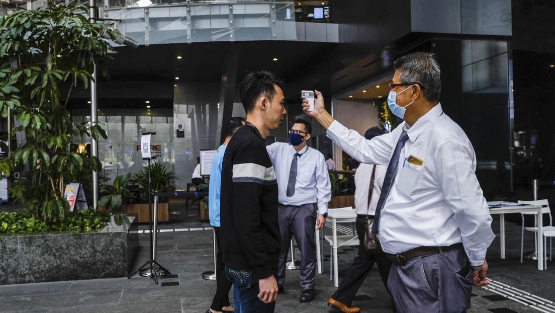Revelan la estrategia aplicada por Singapur para tener controlado el brote del coronavirus en su territorio