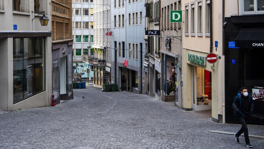 Suiza registra 3.888 casos y 33 muertes por coronavirus