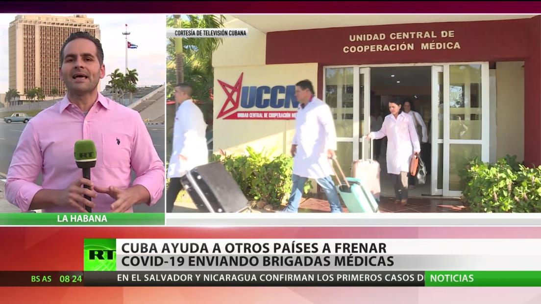 Cuba ayuda a otros países a frenar el covid-19 con el envío de brigadas médicas