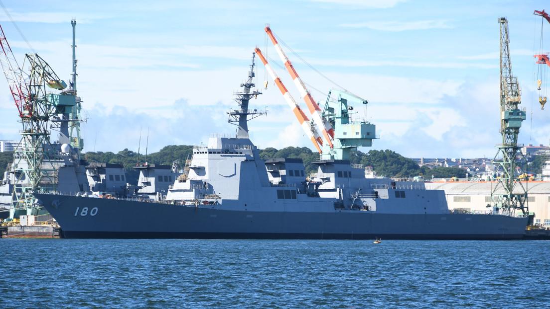 FOTOS: La Armada de Japón estrena un nuevo destructor dotado de un avanzado sistema antiaéreo