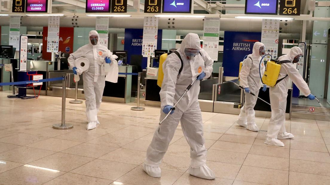 España: El coronavirus ya ha causado 830 muertes y ha infectado a más de 17.900 personas