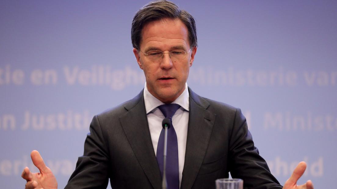 VIDEO: El primer ministro asegura que Países Bajos cuenta con suficiente papel higiénico para ir al baño durante diez años