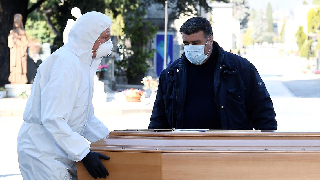 """Historia de una muerte en Bérgamo: """"Completamente sola en su casa, la familia está enferma y no puede ni organizar el entierro"""""""