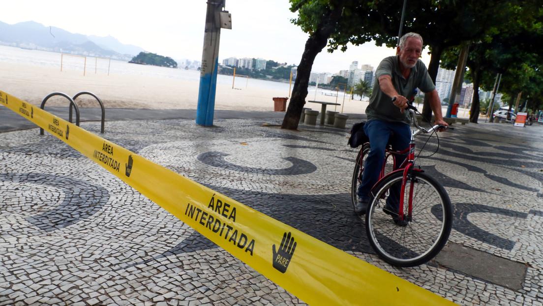 Río de Janeiro cerrará playas y bares durante 15 días para evitar la propagación del coronavirus