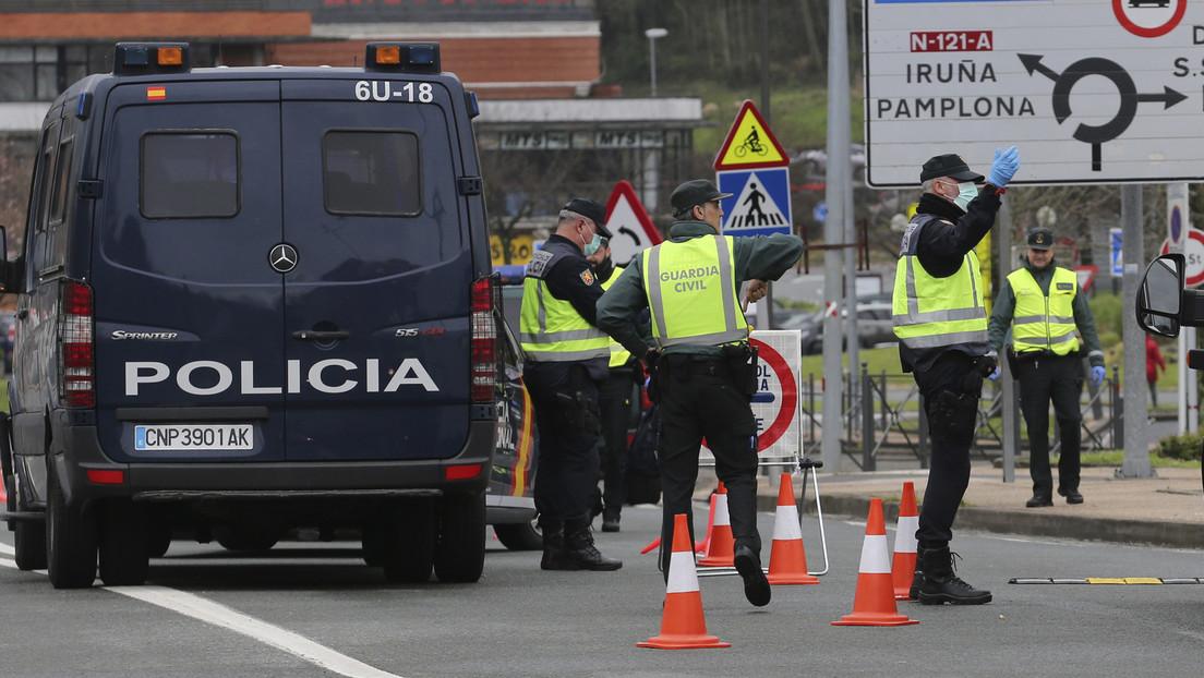 Una mujer escupe a siete guardias civiles al ser arrestada y confirman que tiene coronavirus