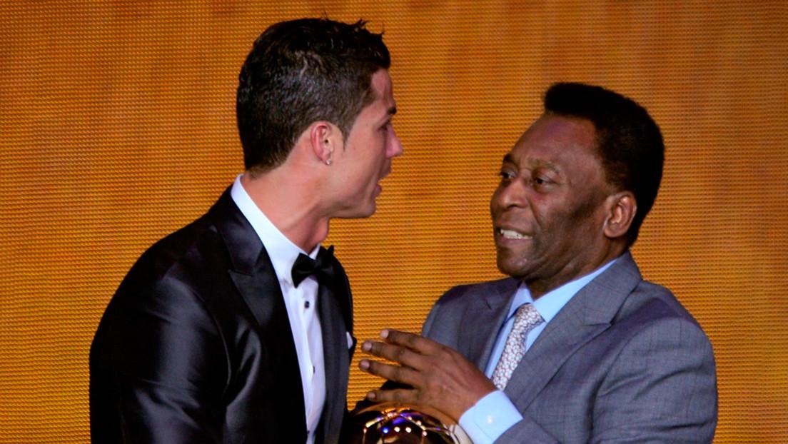 Pelé elige a Cristiano Ronaldo como el mejor futbolista contemporáneo del mundo