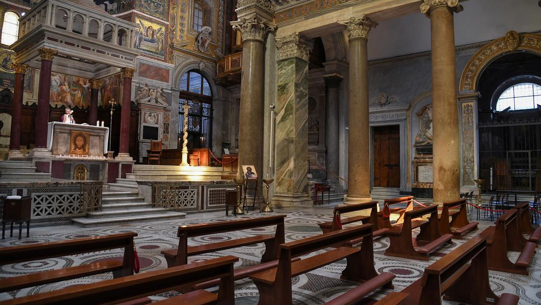 Reportan la muerte de más de una decena de sacerdotes por coronavirus en el norte de Italia