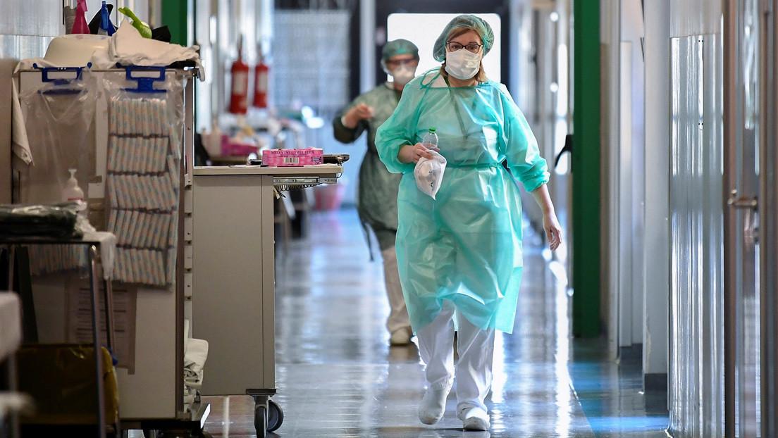 Italia registra 627 fallecidos en las últimas 24 horas, un nuevo máximo con el que se superan las 4.000 defunciones