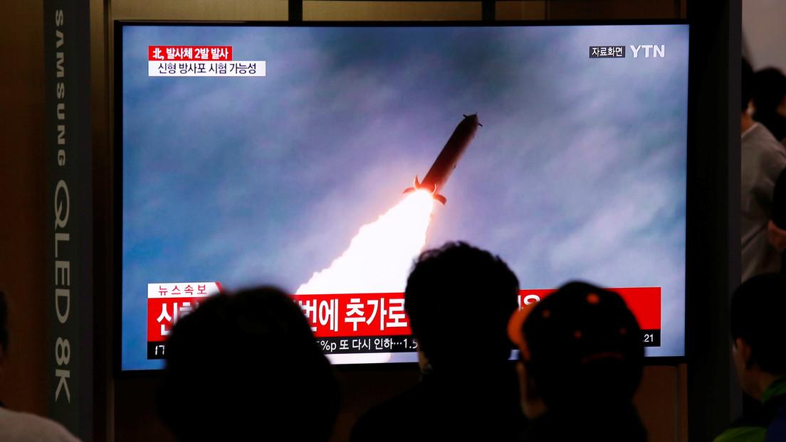 Norcorea lanza dos misiles en tercer día de pruebas