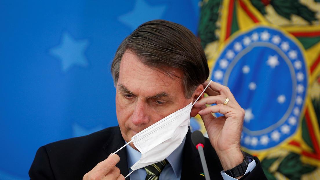 """Bolsonaro dice que """"tal vez"""" ya se infectó con coronavirus y ahora """"tiene anticuerpos"""""""