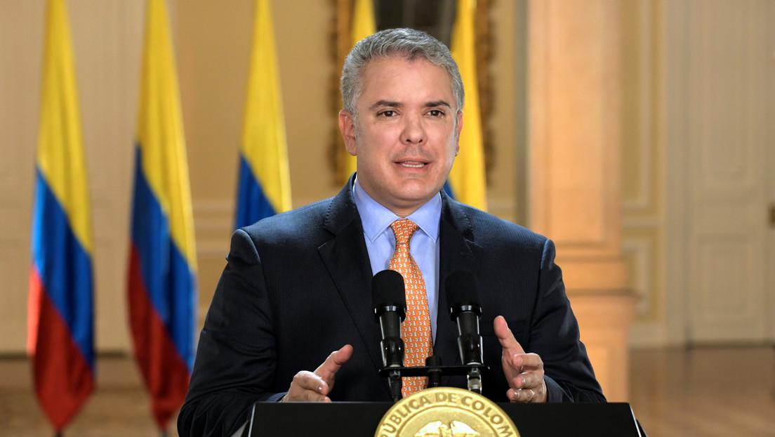 Iván Duque decreta aislamiento general obligatorio en Colombia a partir del martes