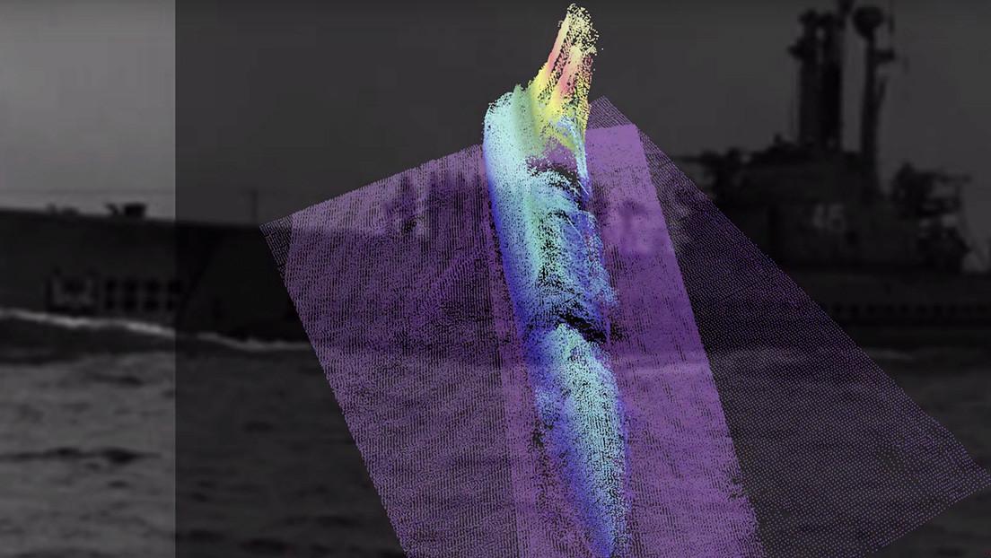 Hallan un submarino estadounidense de la época de la Guerra Fría naufragado cerca de las costas de Hawái (VIDEO)