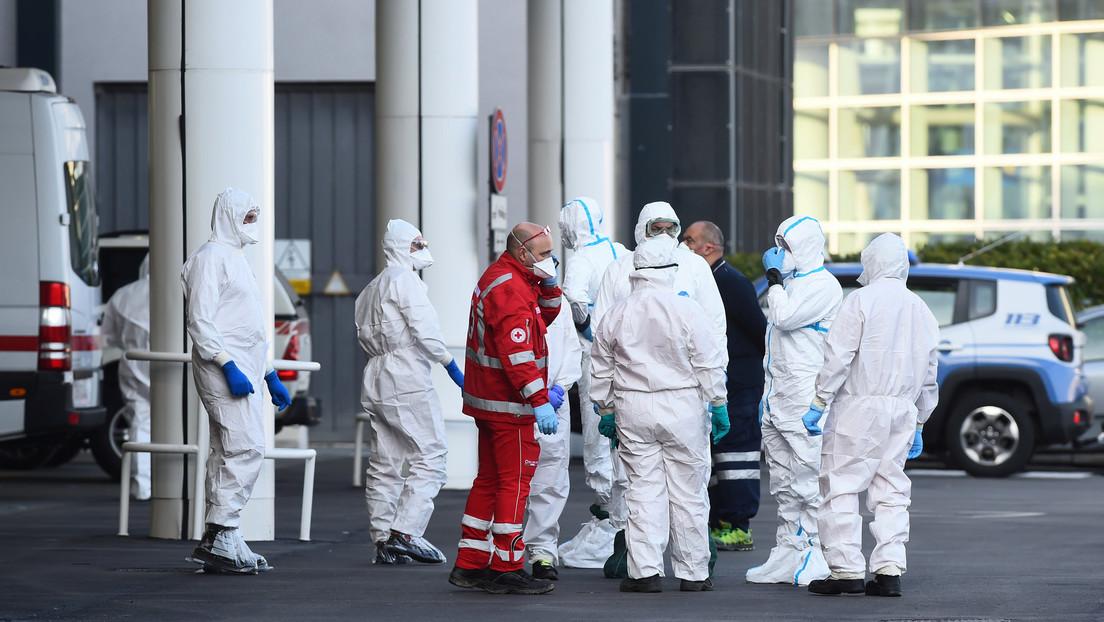 Italia registra un nuevo máximo de 793 muertes en un día, elevando el total a 4.825