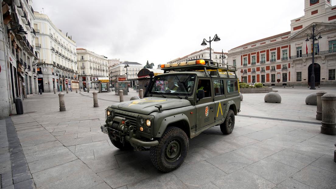 España refuerza el papel del Ejército para contener el brote de coronavirus