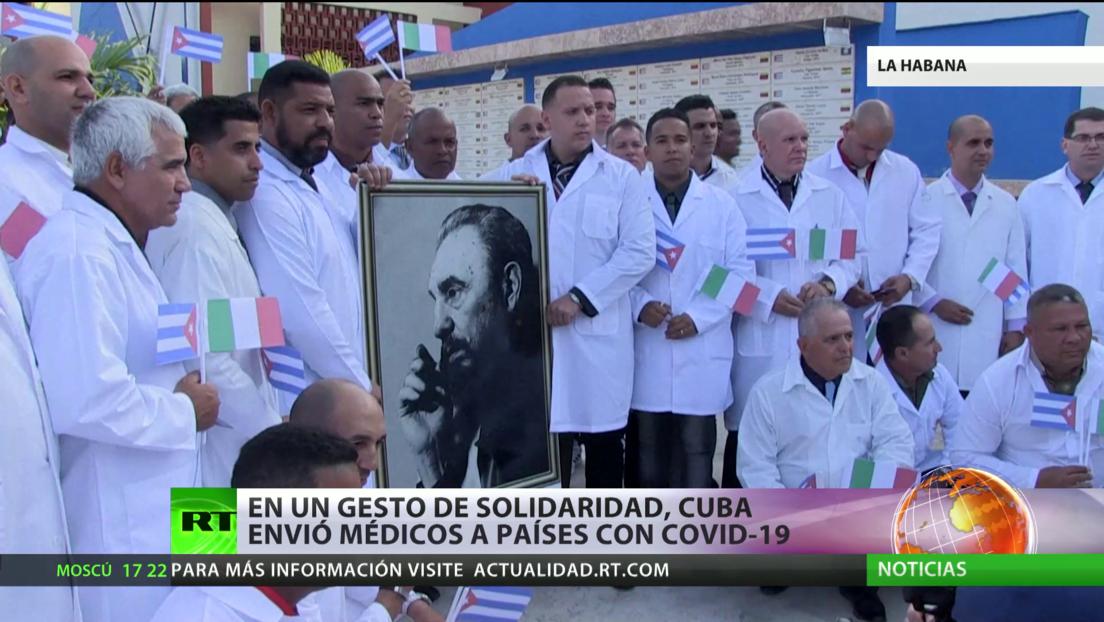 Cuba muestra gestos de solidaridad con varios países para enfrentar la pandemia
