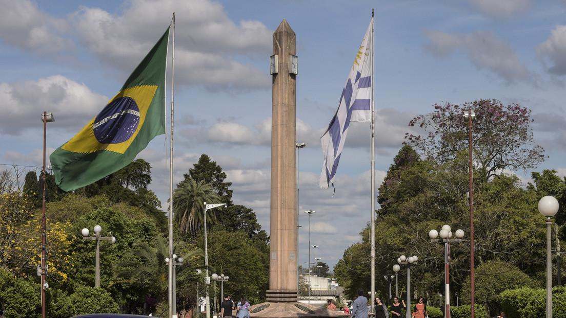 Brasil y Uruguay acuerdan el cierre de frontera para frenar la propagación del covid-19