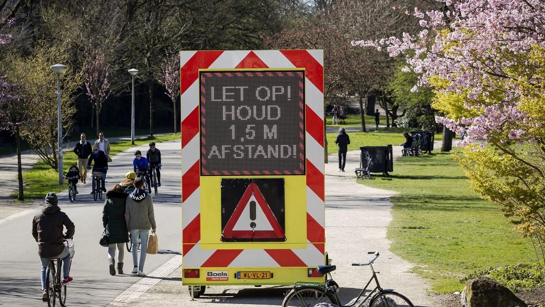 Se registran 545 nuevos casos de covid-19 en Países Bajos, y el número de infectados en el país asciende a 4.749