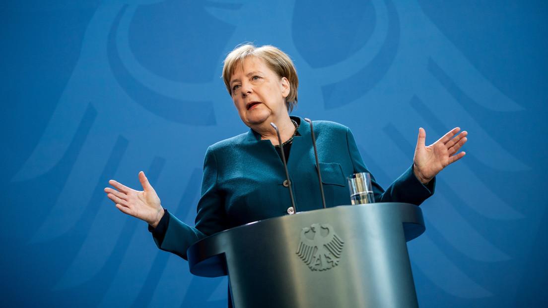 La primera prueba de Merkel por covid-19 da negativo