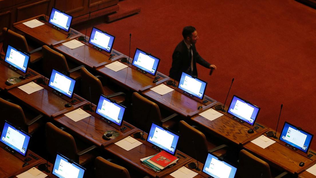 Diputados de Chile aprueban proyecto para que el Congreso sesione en forma telemática por el coronavirus