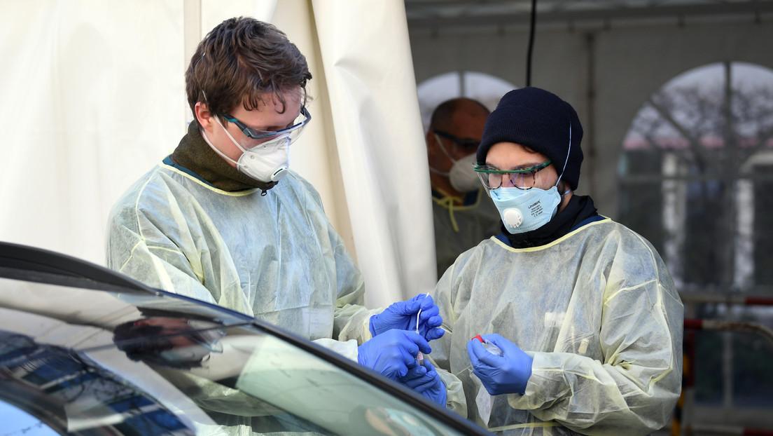 Confirman 4.764 nuevos casos de infección de coronavirus en Alemania, elevando el total a 27.436
