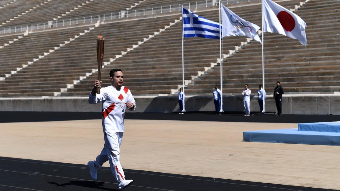 La llama olímpica no será llevada por antorchistas en Japón sino en un farol