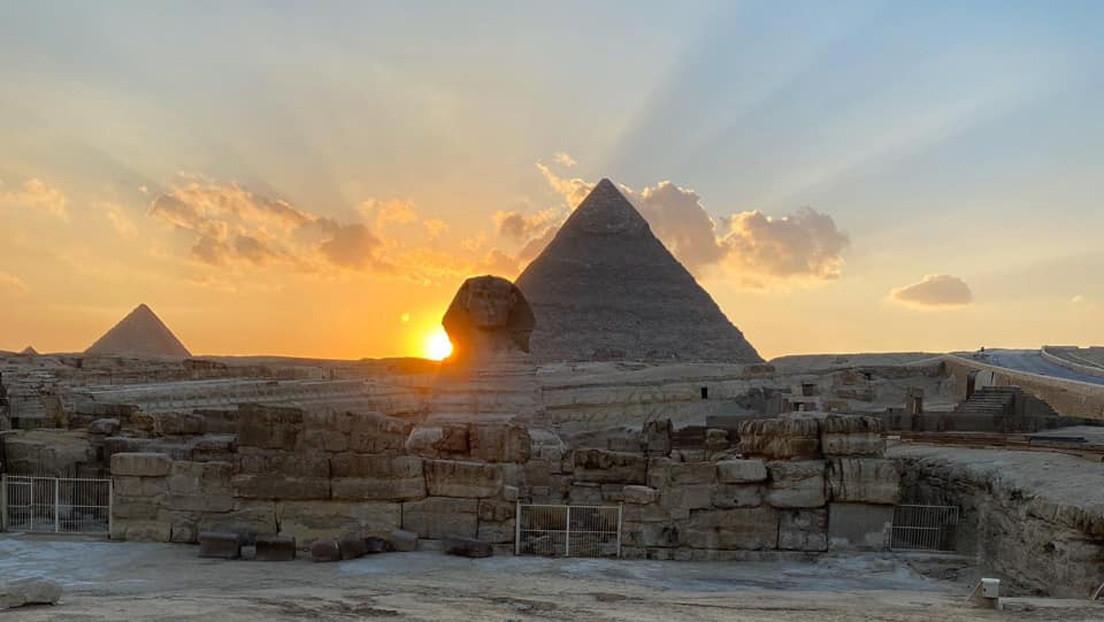 El equinoccio revela un secreto de la icónica Gran Esfinge de Guiza