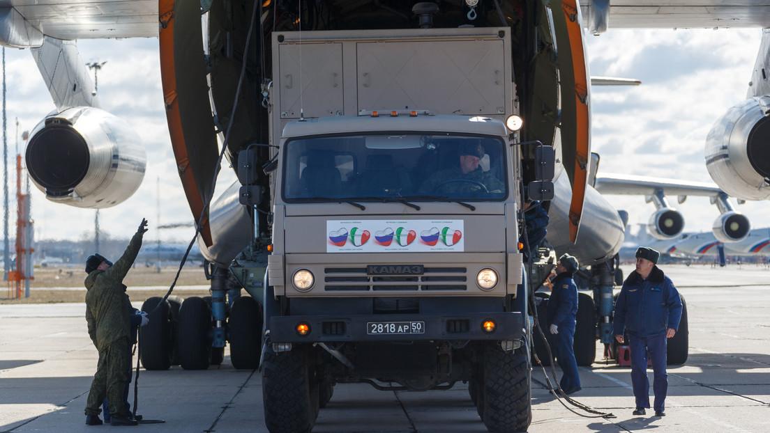 El Ejército ruso brindará apoyo por el covid-19 en Bérgamo, una de las ciudades italianas más afectada
