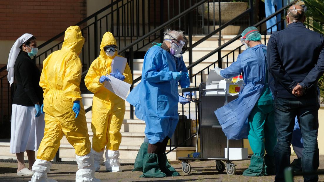 Vuelve a crecer el número de muertos por coronavirus en Italia: 743 decesos llevan el total a 6.820, mientras que hay 69.176 infectados