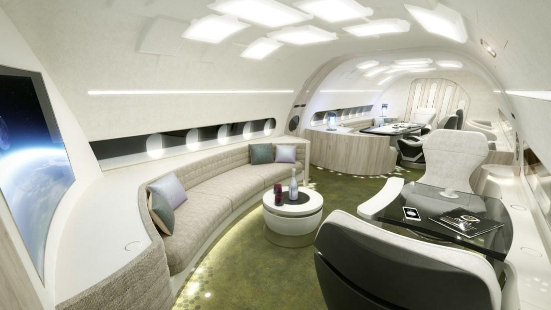 FOTOS: Así es el lujoso Airbus privado con capacidad para 17 pasajeros vip