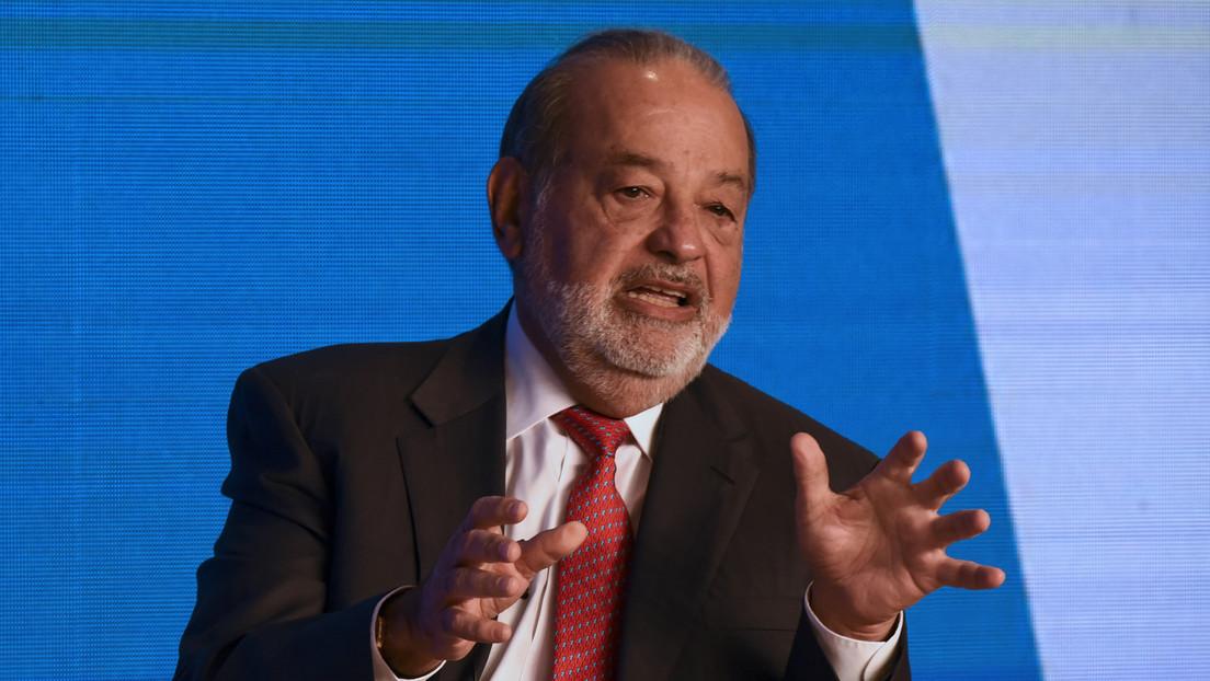 Carlos Slim donará más de 40 millones de dólares a México para la lucha contra el coronavirus