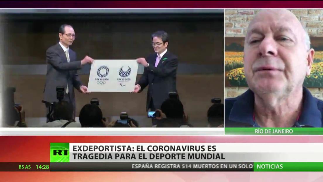 """Miembro del COI: """"Coronavirus es una tragedia no solo para el deporte, mas para la humanidad"""""""