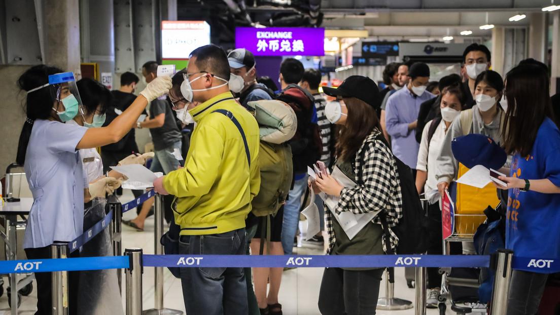 Tailandia impedirá las entradas y salidas del país desde el 26 de marzo