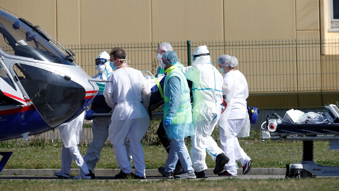Asciende a 1.331 el número de fallecidos por coronavirus en Francia