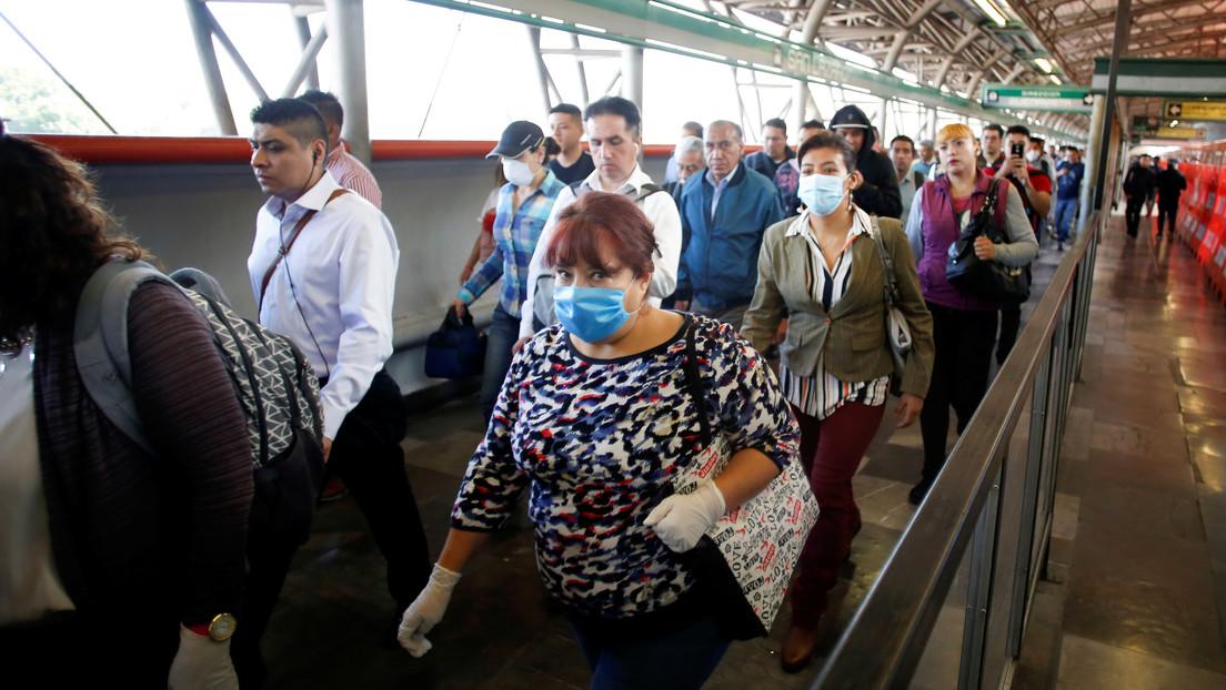 México confirma 70 nuevos casos de coronavirus y el número de infectados llega a 475