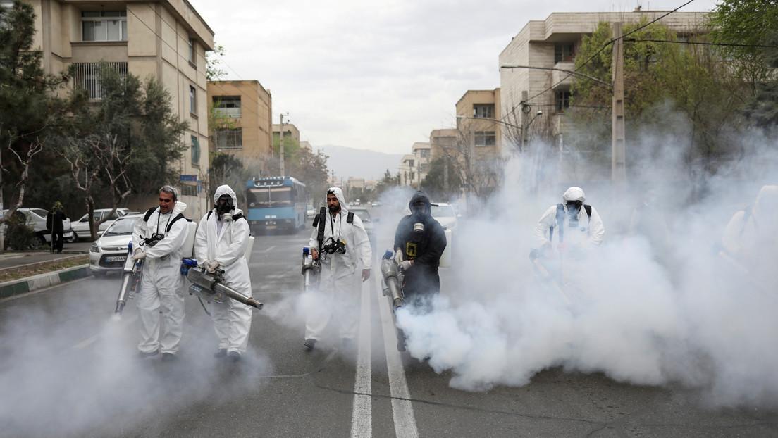 Irán prohíbe los viajes interurbanos para evitar una nueva ola de infección por coronavirus