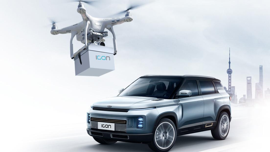 VIDEO: El covid-19 lleva la venta de coches en China a otro nivel, entregando las llaves a clientes con drones para evitar contagios