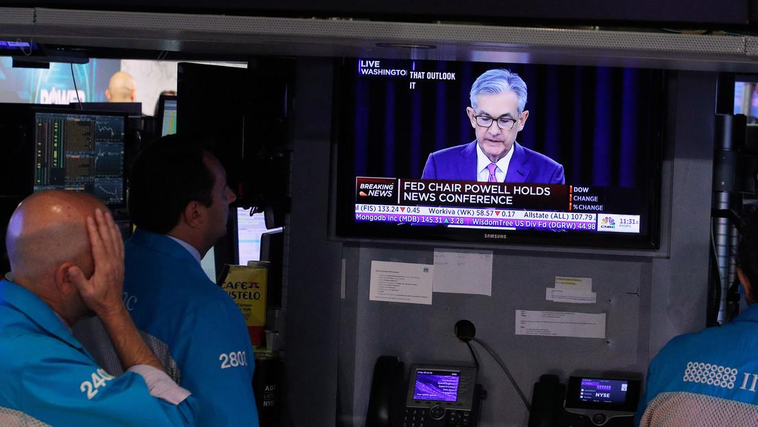 Presidente de la Reserva Federal de EE.UU. declara que la economía del país podría estar en recesión