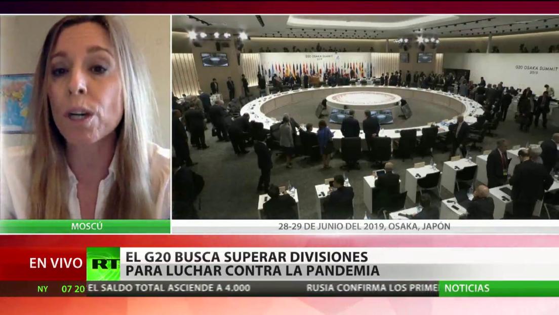 El G20 busca superar divisiones para luchar contra el pandemia del coronavirus