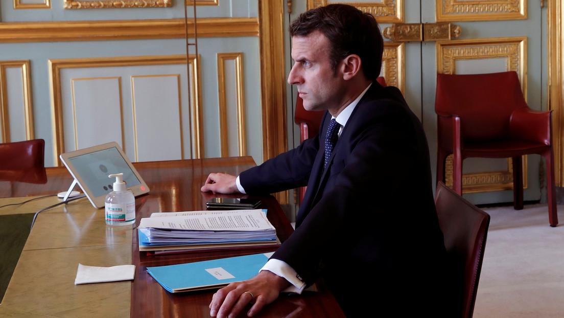 """Macron advierte del riesgo de que """"muera la zona Schengen"""" debido al coronavirus"""