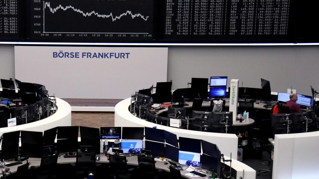 Los mercados europeos vuelven a caer, mientras el coronavirus se propaga con fuerza por el continente