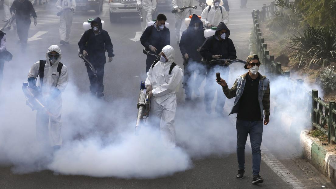 Registran 2.926 nuevos casos de coronavirus en Irán durante las últimas 24 horas