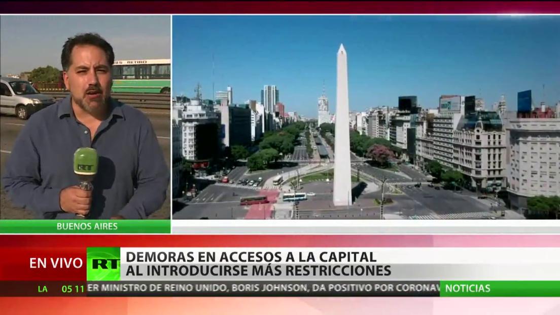 Argentina cierra todas sus fronteras por la pandemia de covid-19