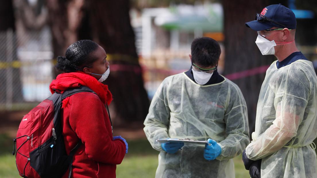 El número de contagiados por coronavirus en EE.UU. supera los 90.000