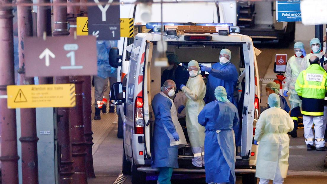 Asciende a 1.995 el número de muertes por coronavirus en Francia y a 32.964 los casos de infección